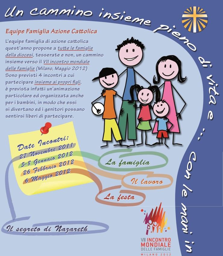 Cammino Famiglie 2011-2012