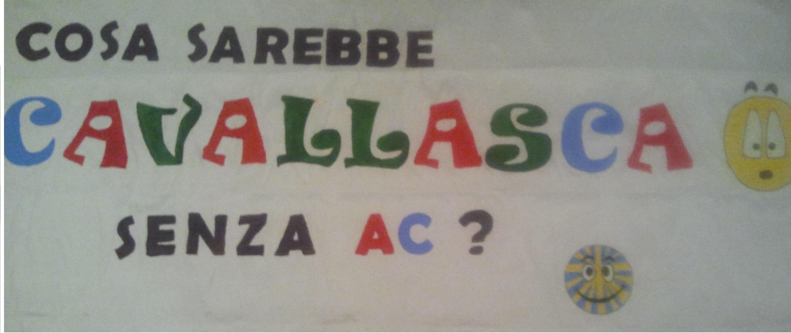 Striscione di Cavallasca - Convegno ACR