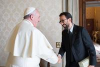 Matteo Truffelli e Papa