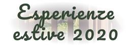 Esperienze estive 2020